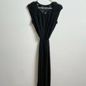 Calvin Klein lace maxi dress
